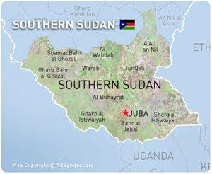 southSudan-map