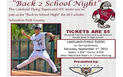 Back to School Night for all Catholic Schools in Polk County