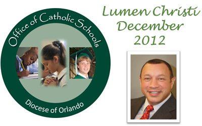 Lumen Christi Newsletter December 2012