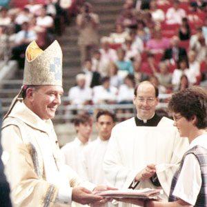 Bishop-Dorsey-Installation-at-Orlando-Arena-May-25-1990