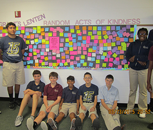 Students Offer Random Acts of Kindness