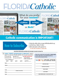 Subscribe to the Florida Catholic