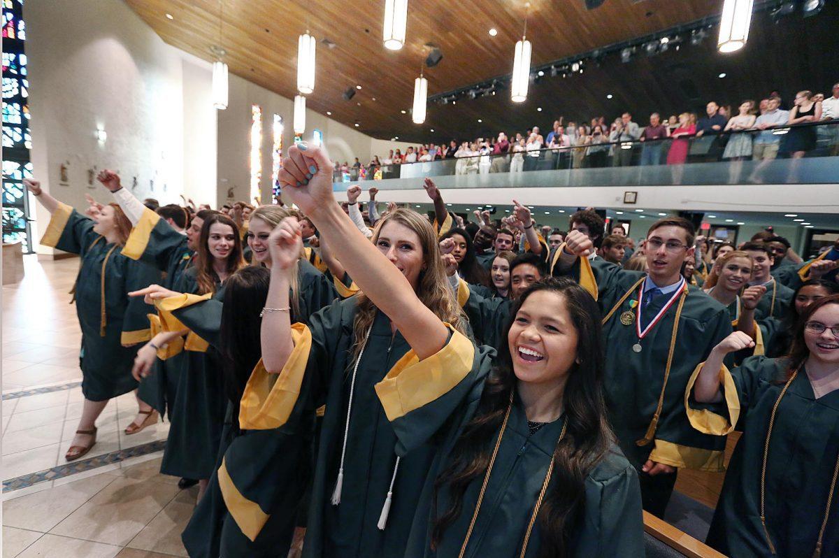 Graduates reflect on, share the joys of their Catholic education