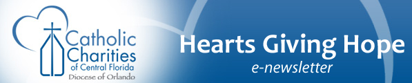 Catholic Charities enews banner
