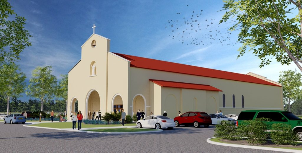 St. Rose of Lima Parish in Kissimmee will be moving to a new location allowing room for growth. The new sanctuary will seat 650 people and is scheduled to be complete by August 2017. (GLENDA MEEKINS   FC)