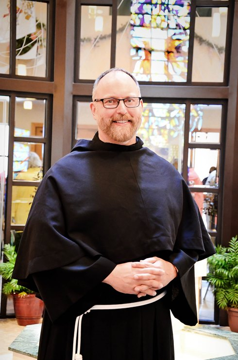 From the gates of Graceland to Winter Park, Franciscan friar Brother Randall Pinner, TOR is named the new director for San Pedro Spiritual Development Center. PHOTO BY ANDREA NAVARRO