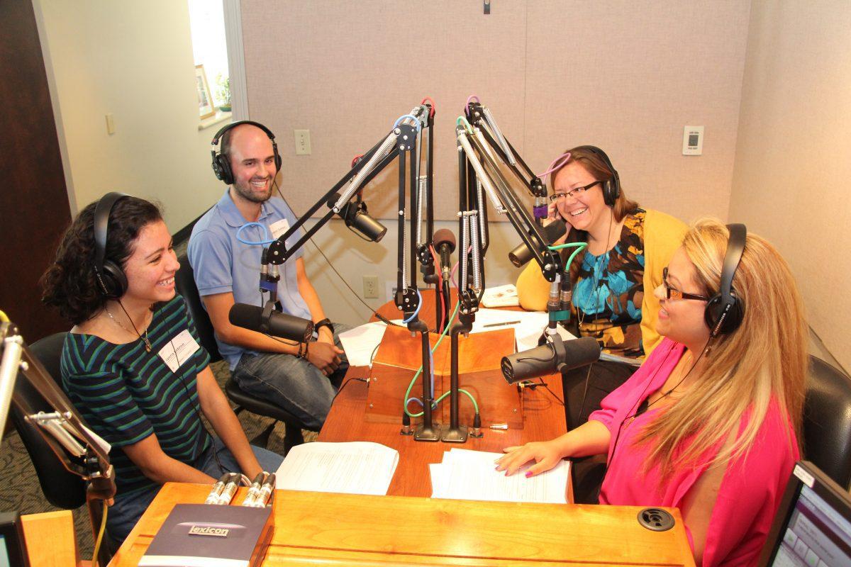 Valeria Lebron, Sebastian Gomez, Kimmy Zeiler and Katherine Laguna. PHOTO: GLENDA MEEKINS