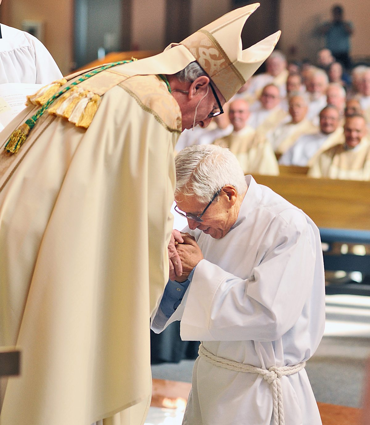 Newly ordained deacon battling stage four cancer