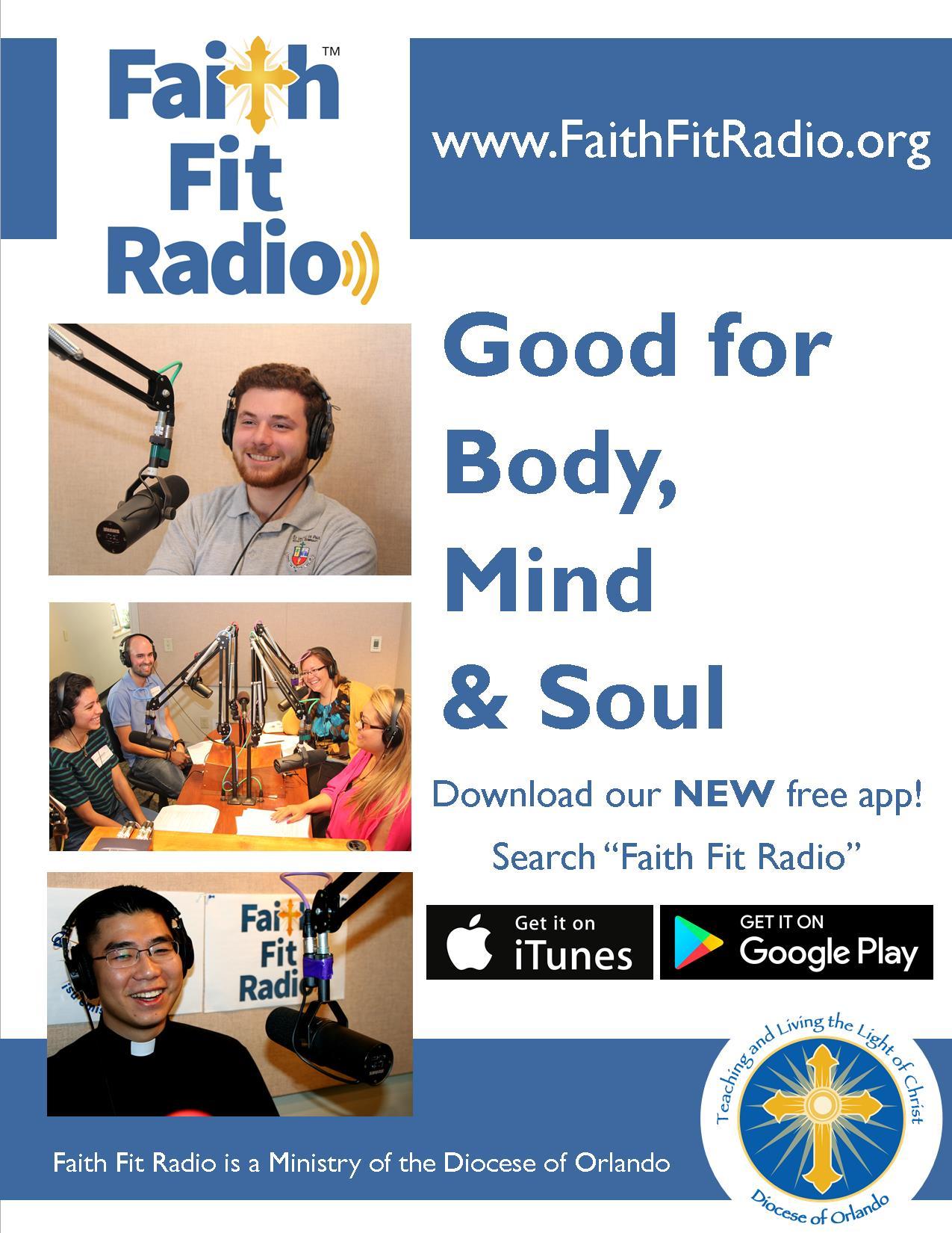 faith-fit-radio-app-flyer