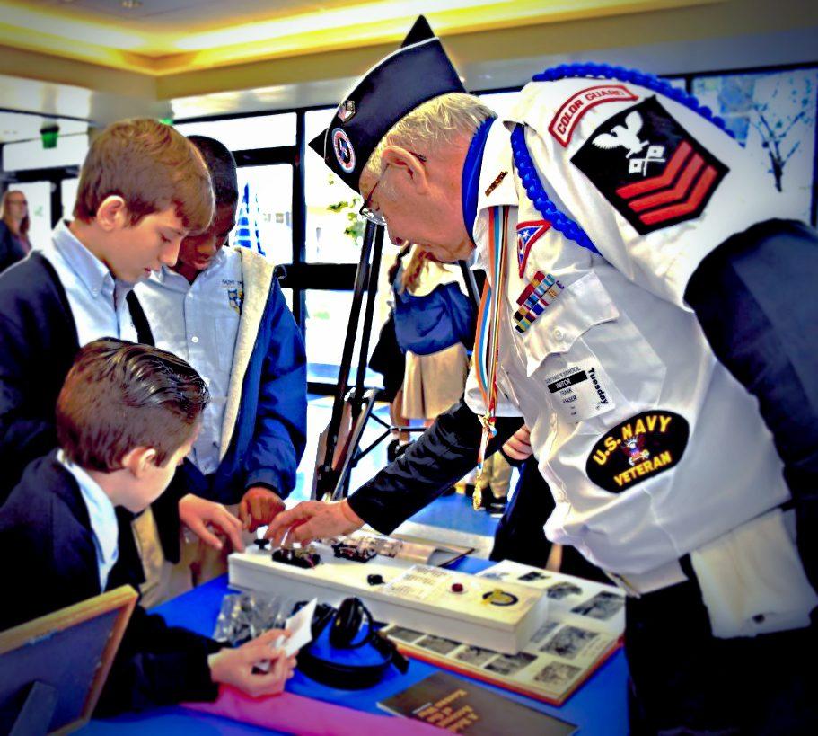 Korean Veterans Share and Teach St. Paul Students