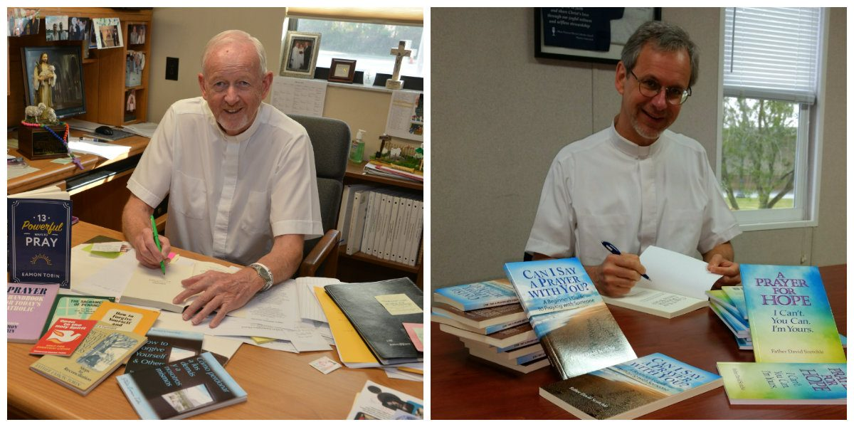 Two local priests publish books on prayer
