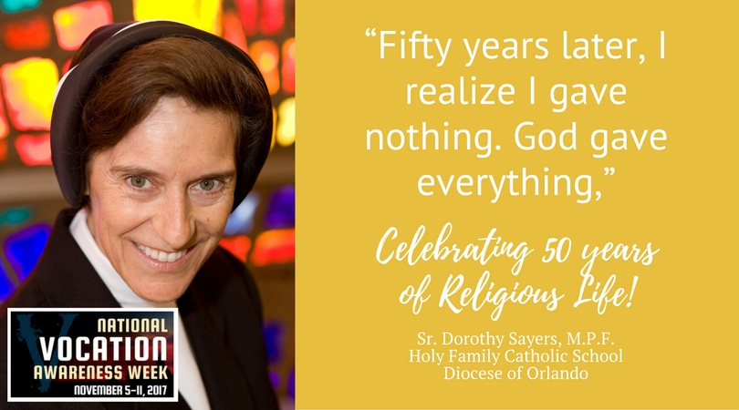Celebrating 50 Years of Service – Sister of the Religious Teachers Filippini, Dorothy Sayers