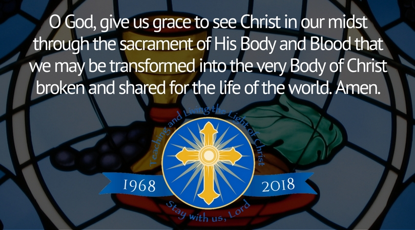 Prayer For The Year Of The Eucharist Diocese Of Orlando Florida