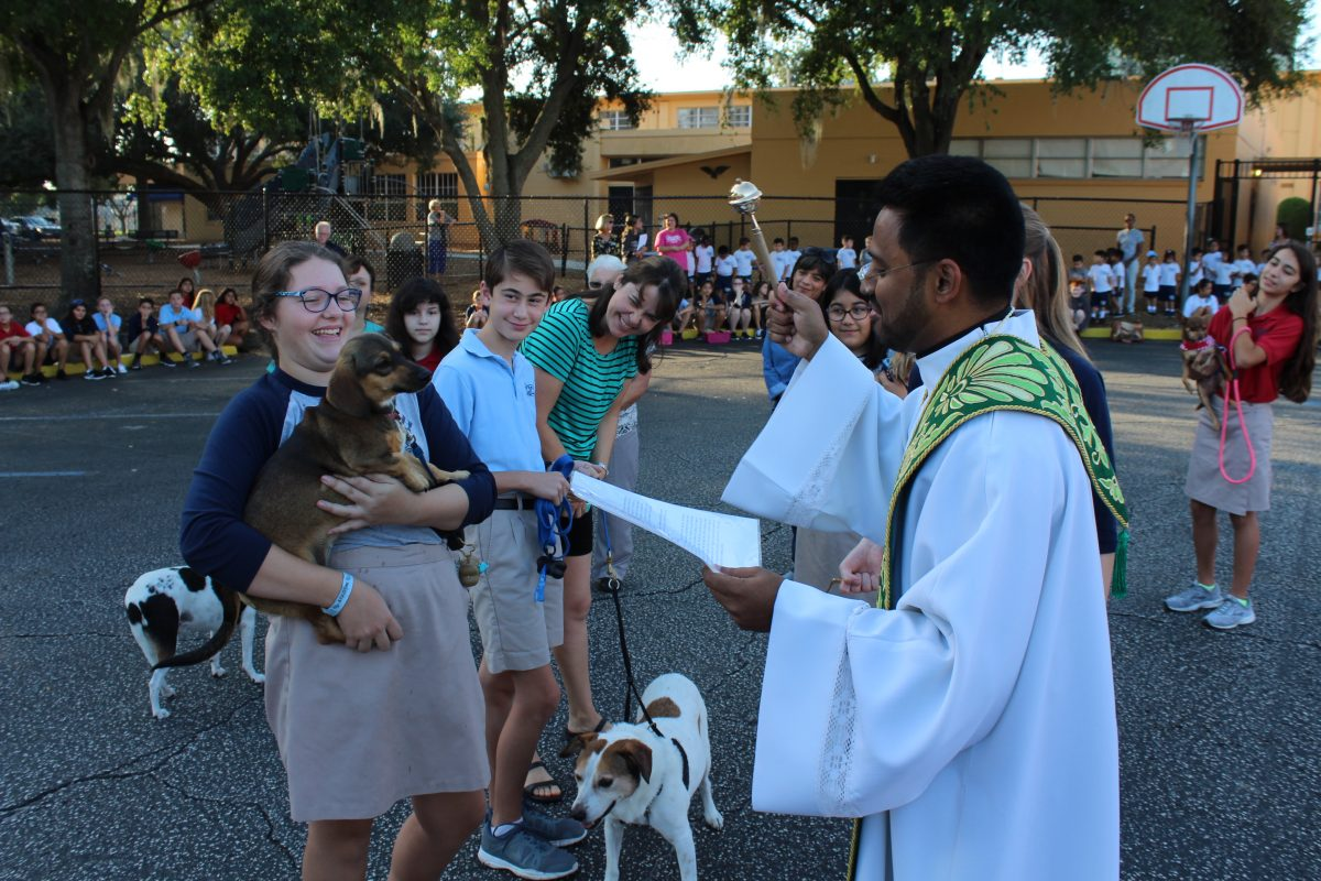 St. Francis' Feast Day Honored with Blessings and Science