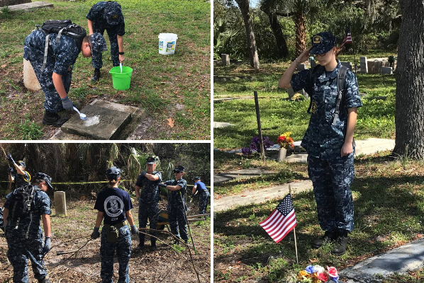 Sea Cadet program enables faith in action