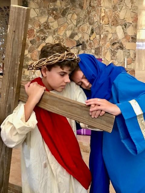 Living Stations of the Cross: A prayerful experience