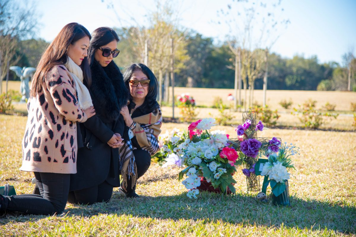 Leaders learn to walk with those who mourn